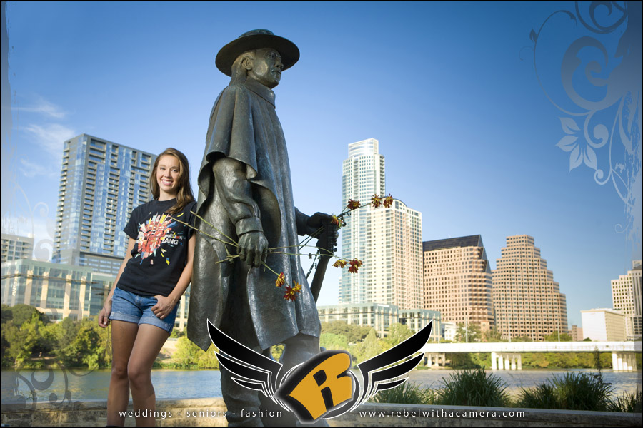 Senior portraits in Austin, TX