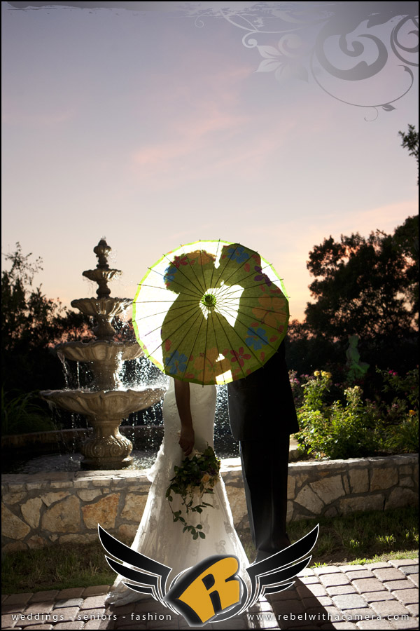 Gorgeous wedding pictures at Nature's Point