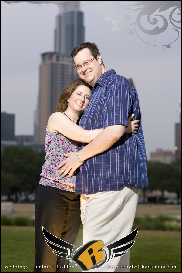 austin  texas long center fun engagement pictures