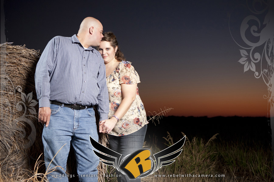 Engagement session in Granger, TX