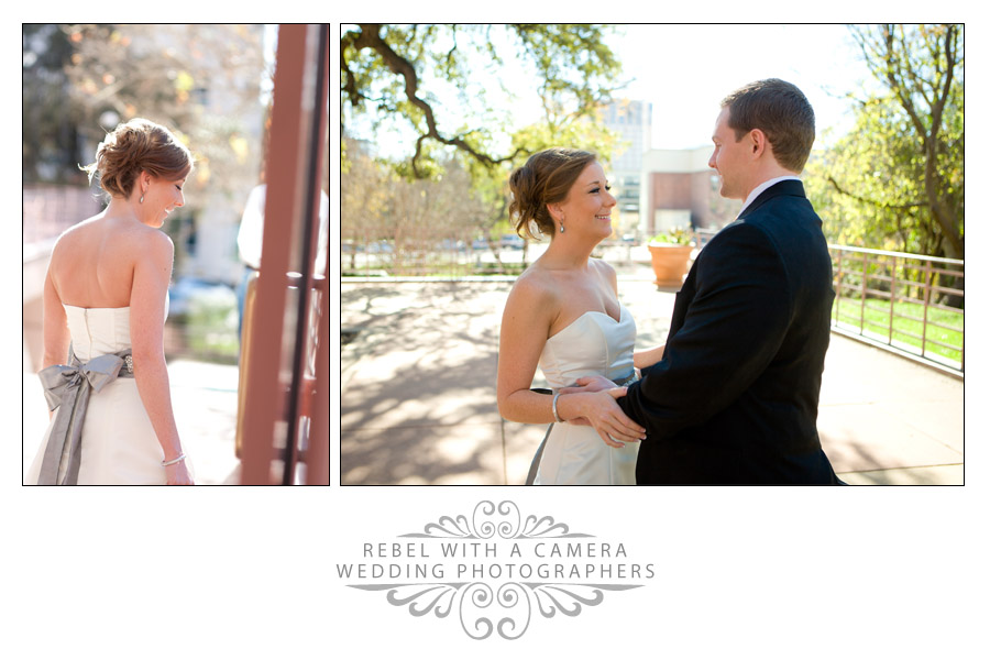 Wedding photos at UT Alumni Center, Austin, Texas