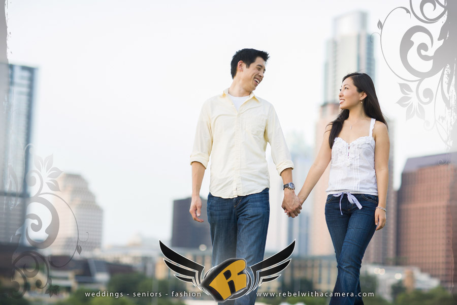 Mayfield Park Engagement portrait in Austin, Texas