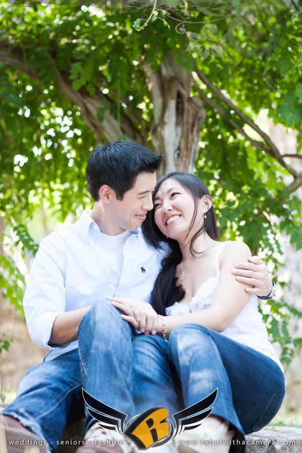 Mayfield Park Engagement portrait in Austin, Texas