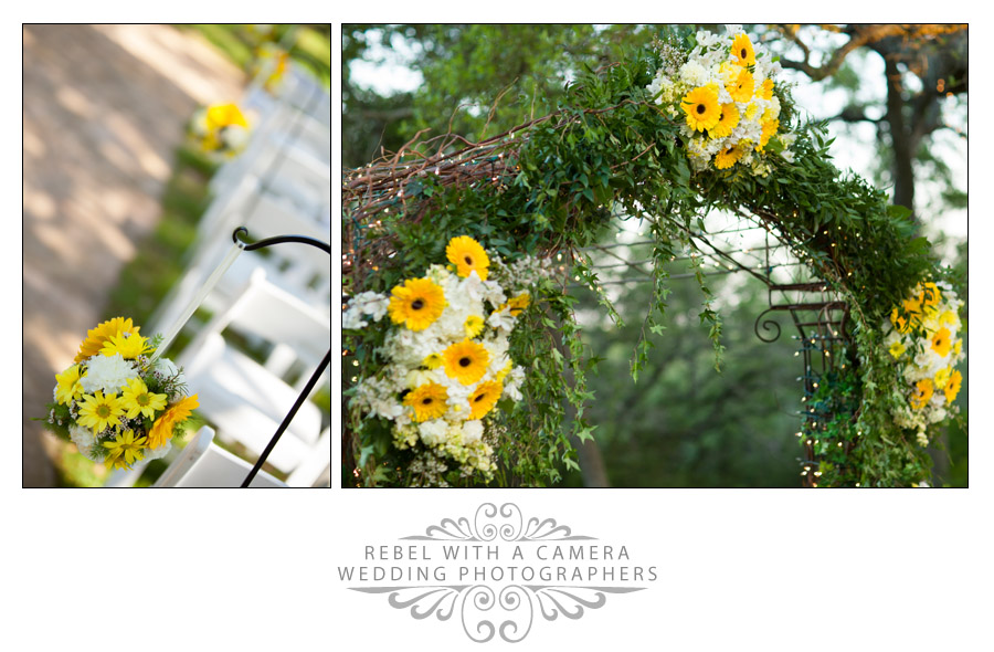 Kindred Oaks vintage wedding photos