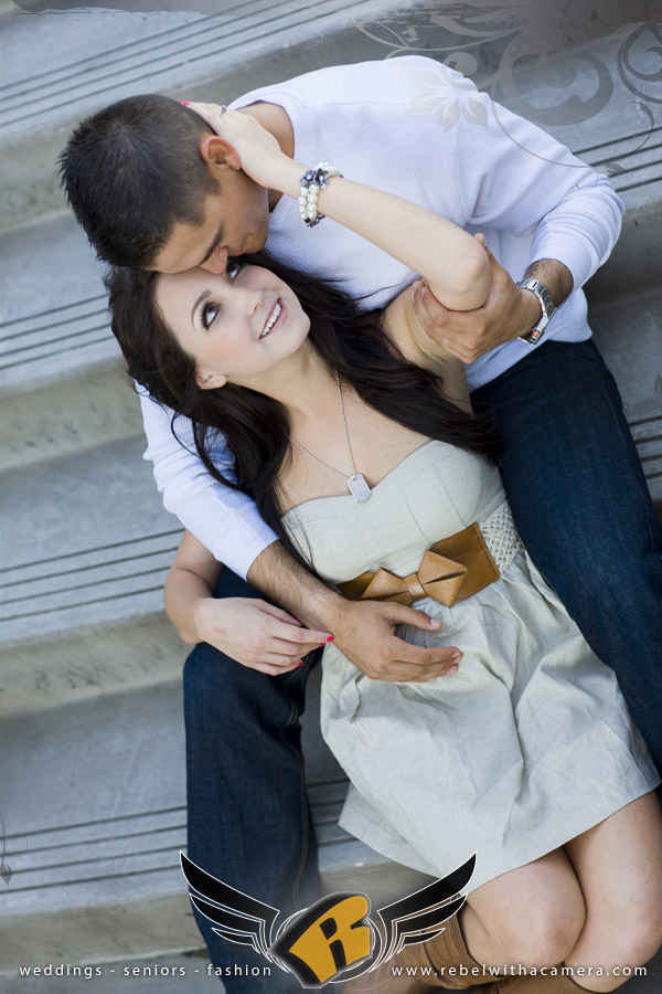 Long Center engagement photos in Austin Texas