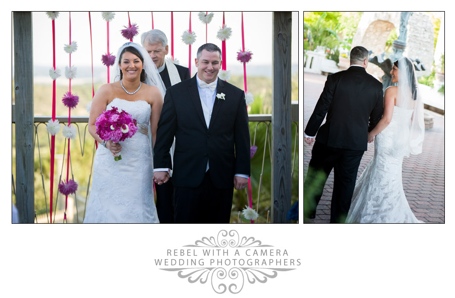 Gorgeous Villa Antonia wedding photos