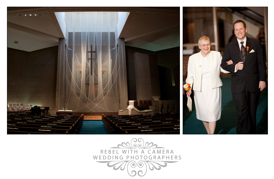 Romantic wedding photos at the Austin Club.