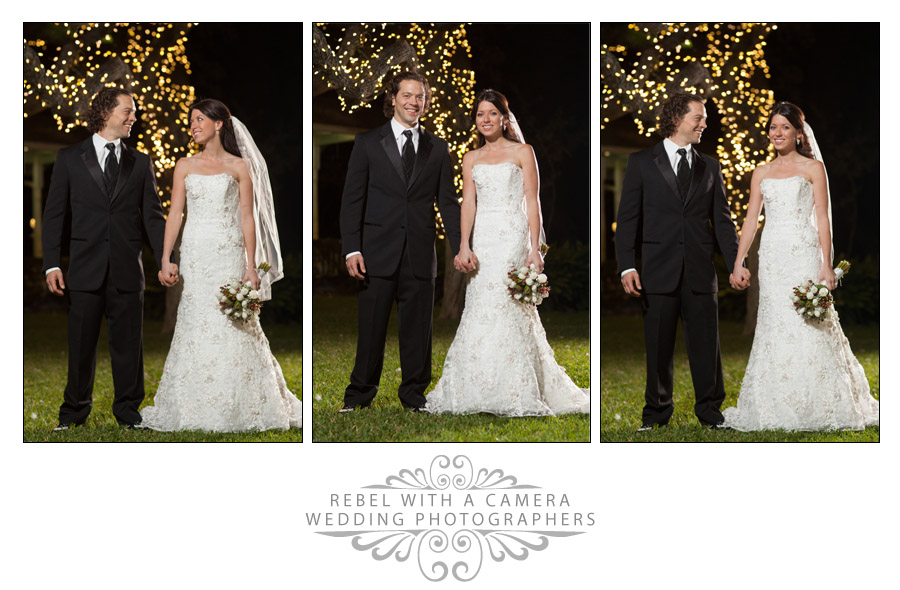 Dramatic wedding photos at Green Pastures