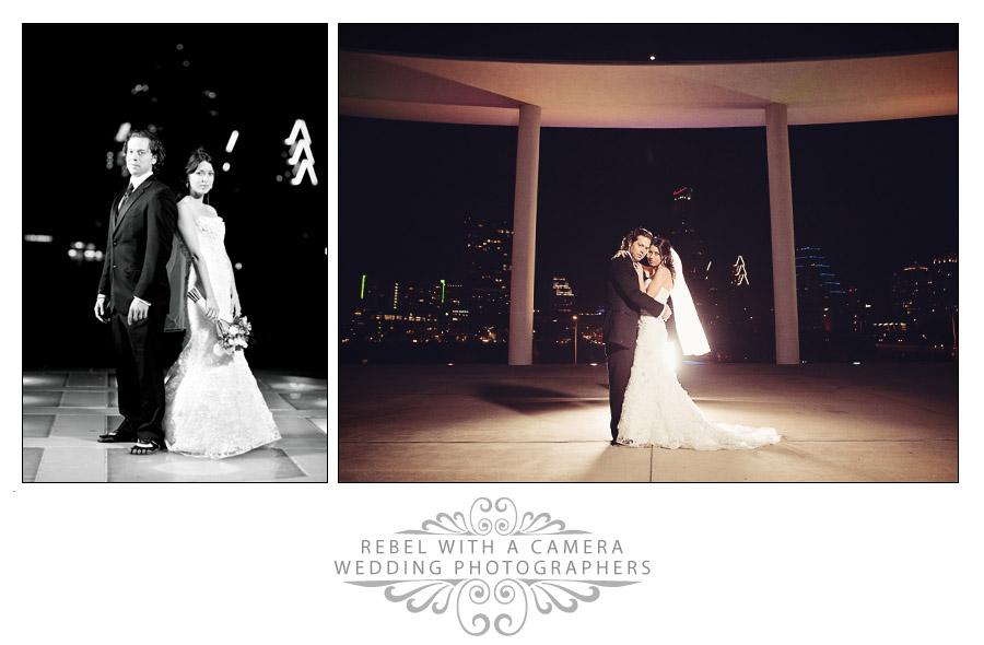 Dramatic wedding photos at Green Pastures