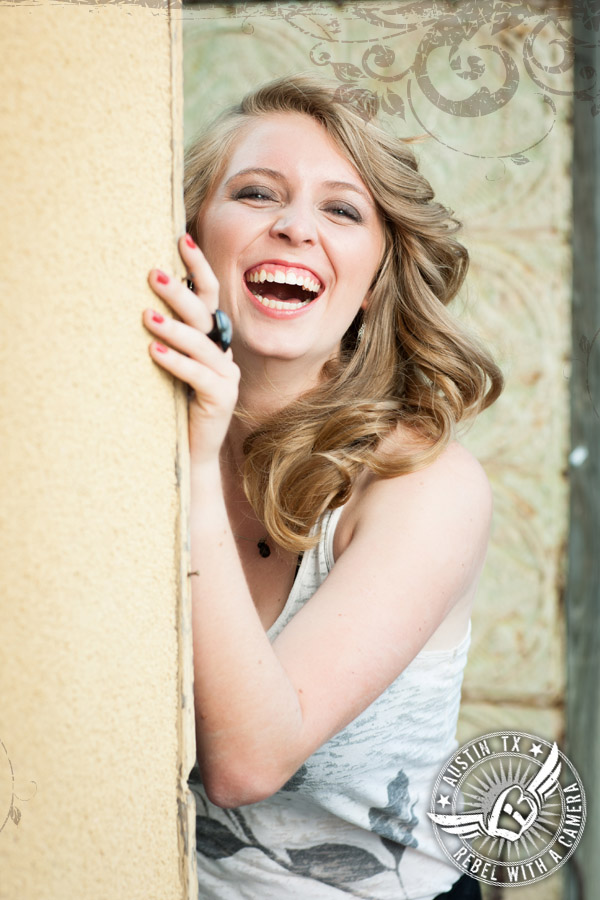 Senior Portraits in Georgetown Texas