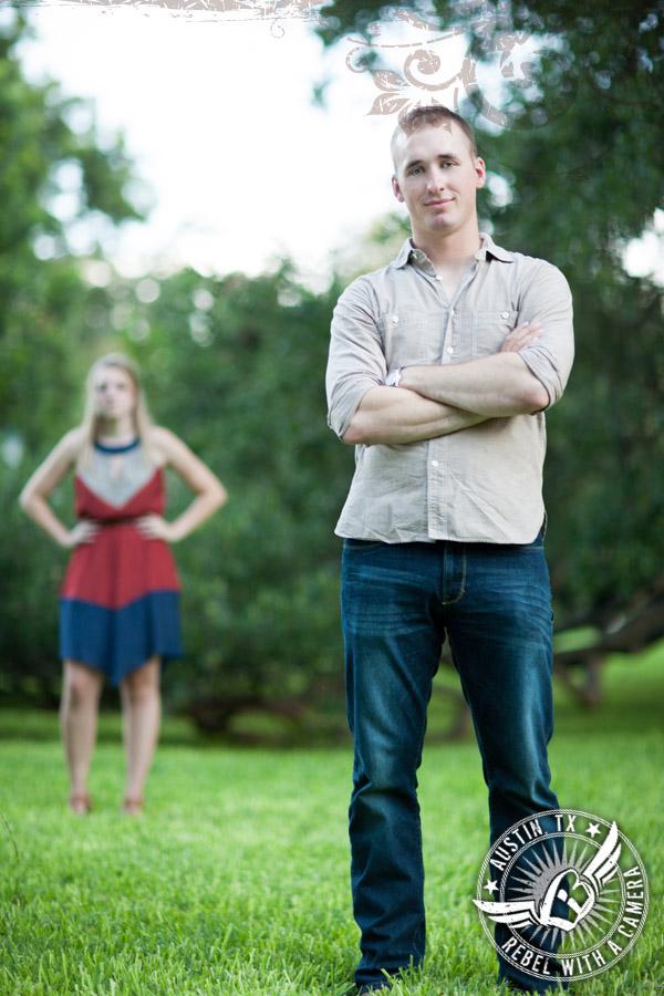 Texas Capitol Engagement Portraits