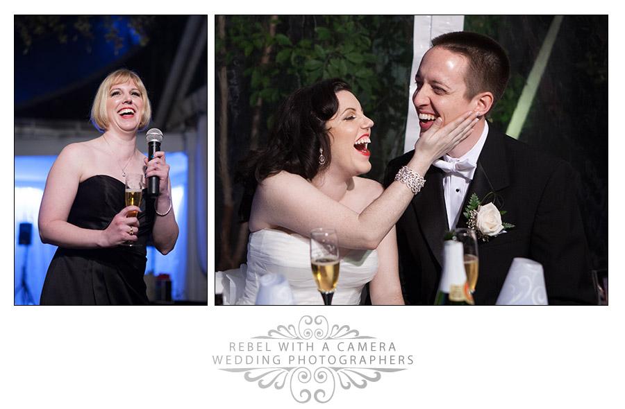 Glamorous Allan house wedding photos