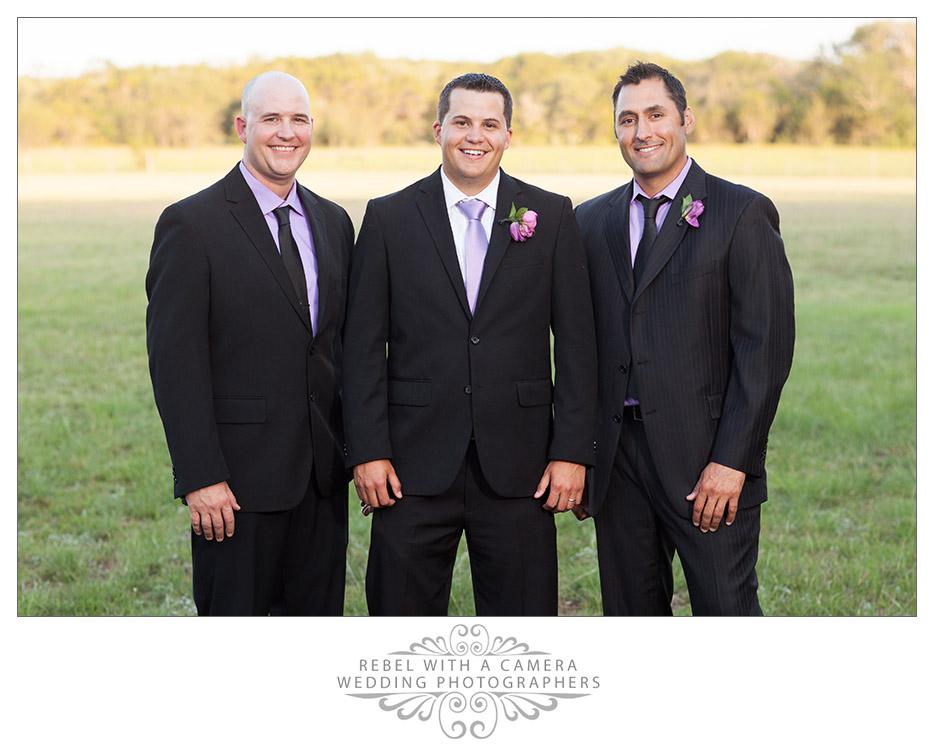 Country wedding photos at Tejas Hall at