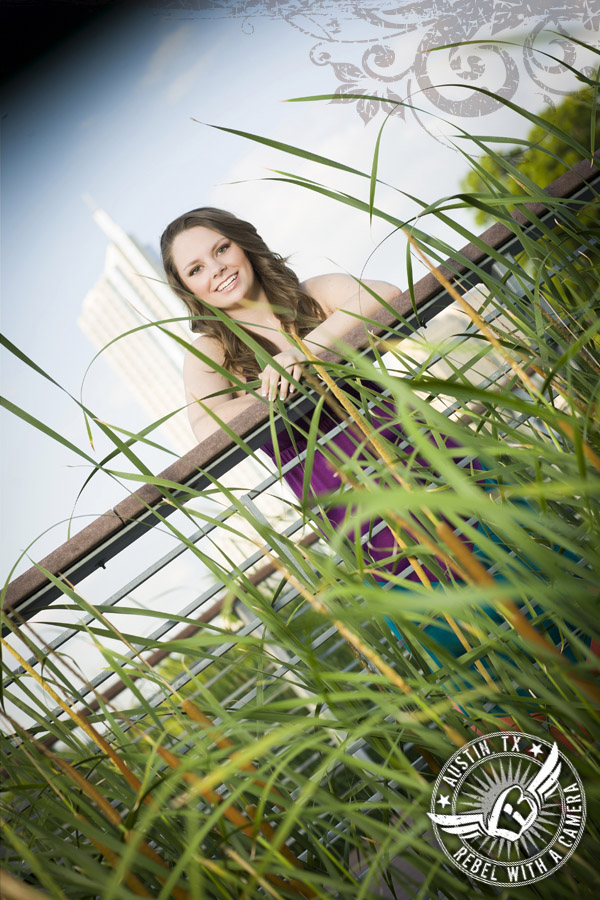 Long Center senior portraits in Austin