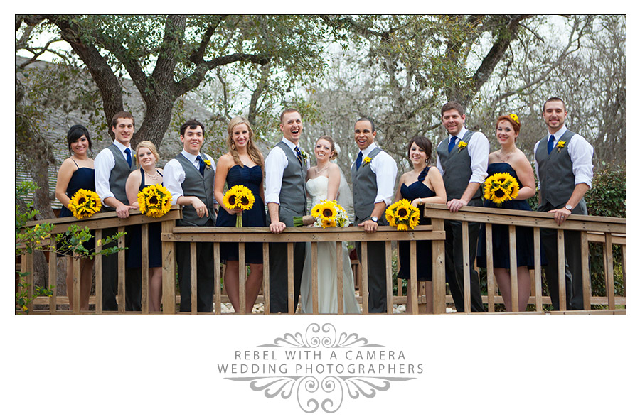 Sweet country wedding photos at Texas Old Town