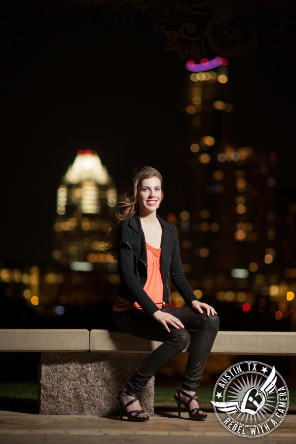 Downtown Austin senior portraits