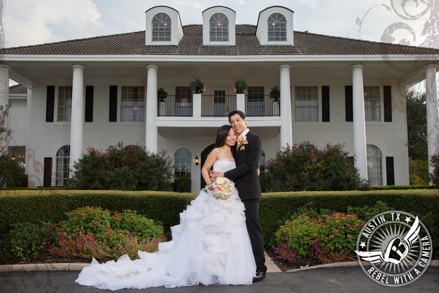 Romantic Plantation House wedding photos