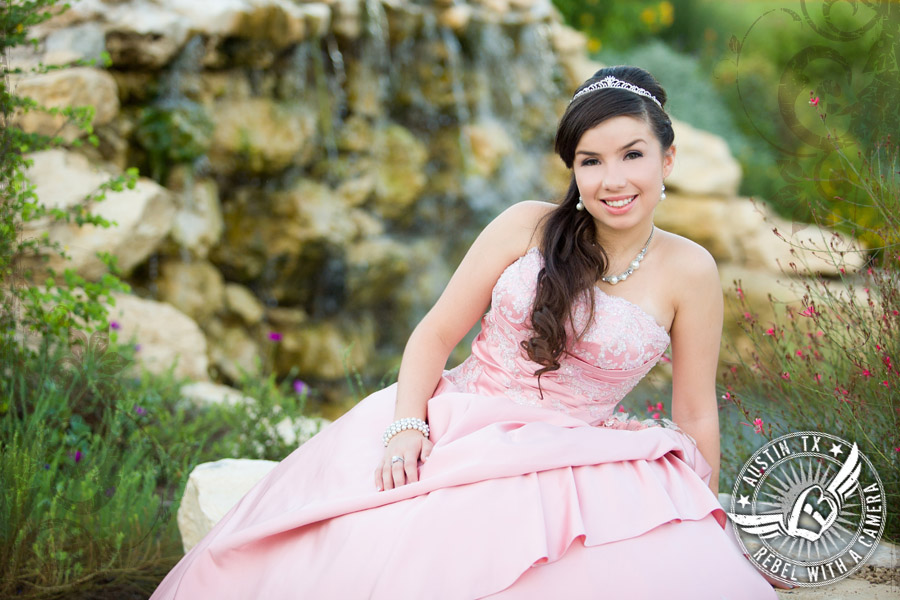 Texas Old Town quinceanera
