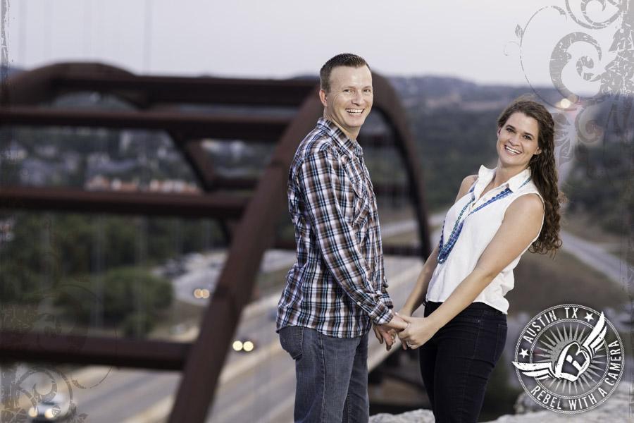 360 Bridge engagement pictures