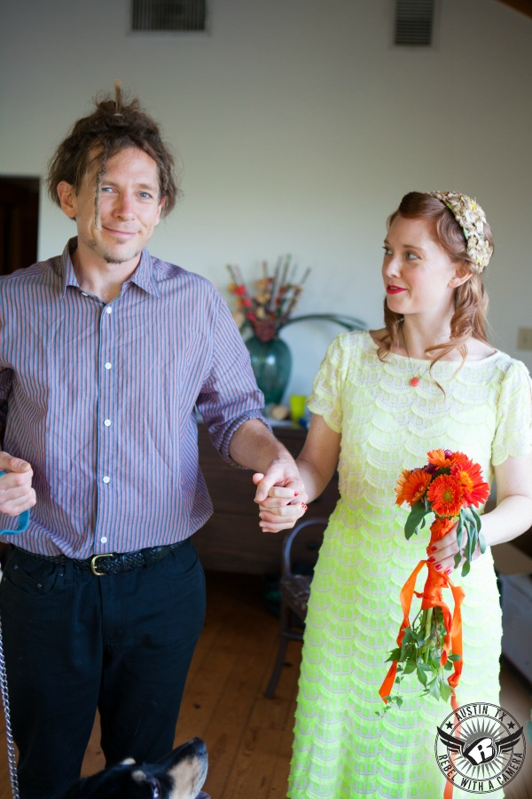 Eclectic wedding photos at House on the Hill in Austin Texas
