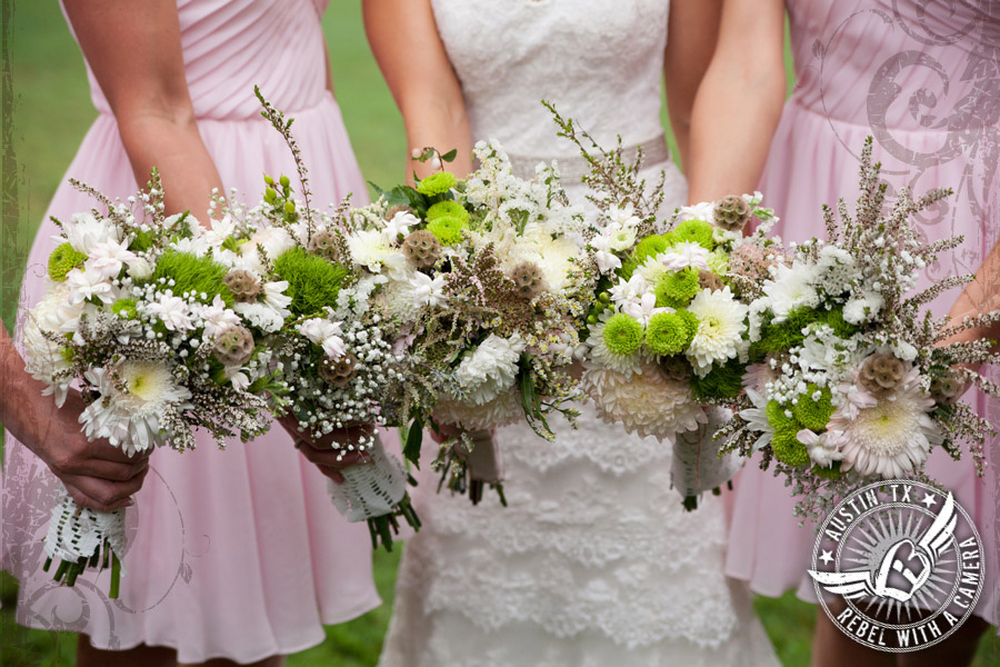 Shabby chic floral design at Cedar Bend Events
