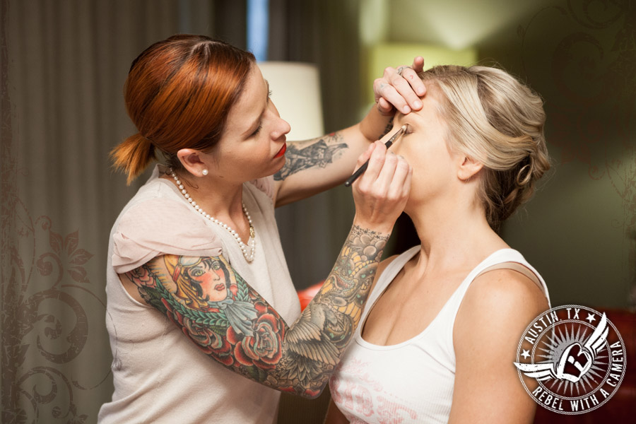 Fabulous wedding makeup by Maris Malone Calderon.