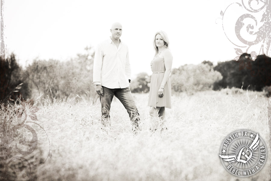Lakeway Greenbelt Engagement Pictures