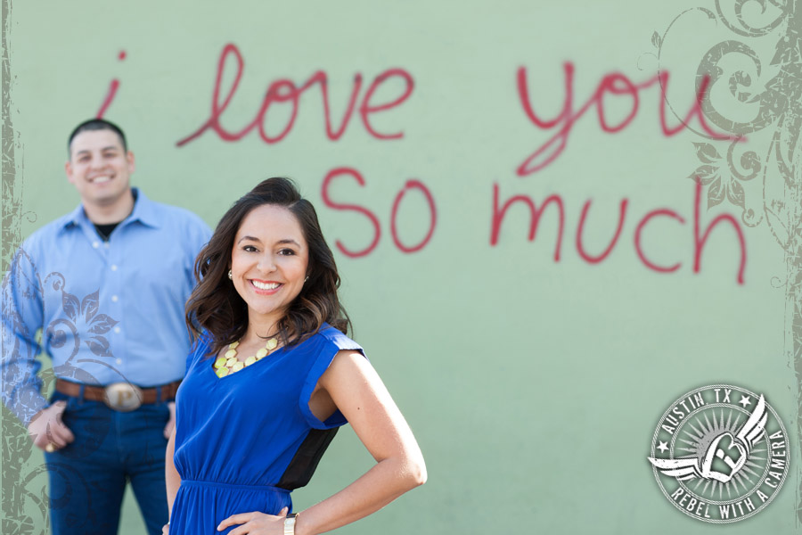 Fun Austin engagement photos