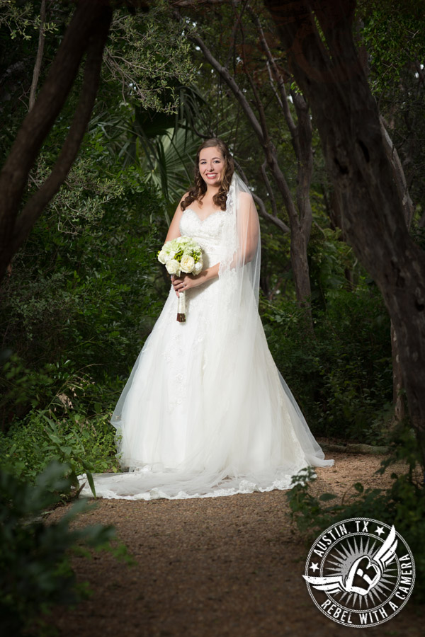 Beautiful Austin bridal portraits