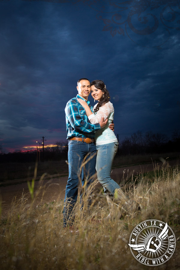 Engagement pictures at Mueller Lake Park in Austin