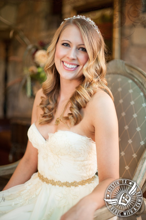 Stunning bridal portraits at Nature's Point