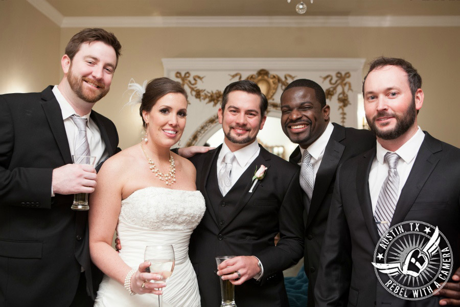 Elegant wedding photos at Villa St. Clair