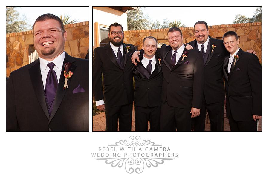 Fun wedding photos at Villa on Lake Georgetown