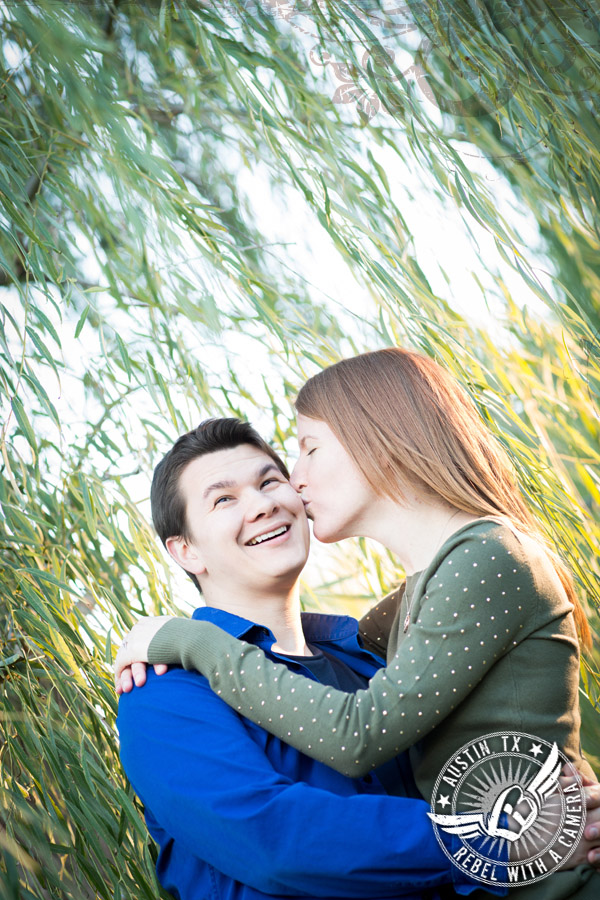 Engagement pictures at Butler Park