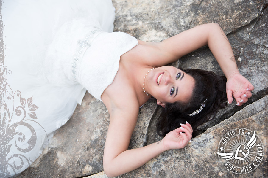 Gorgeous bridal portraits in Georgetown, Texas.