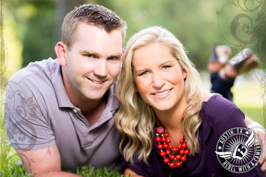 Engagement pictures around Austin