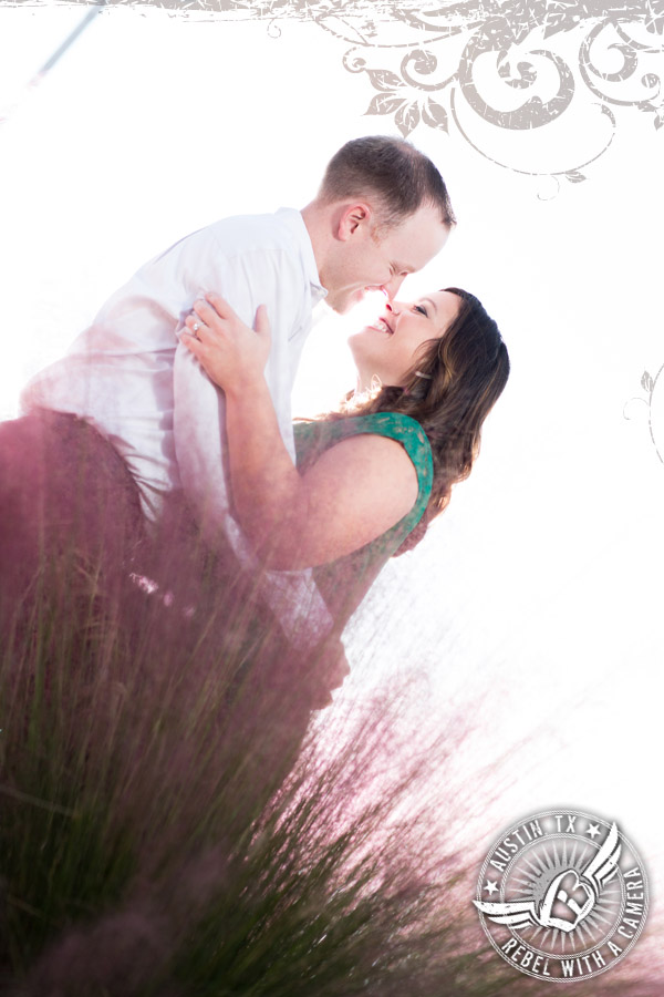 Fabulous engagement portraits at the Long Center