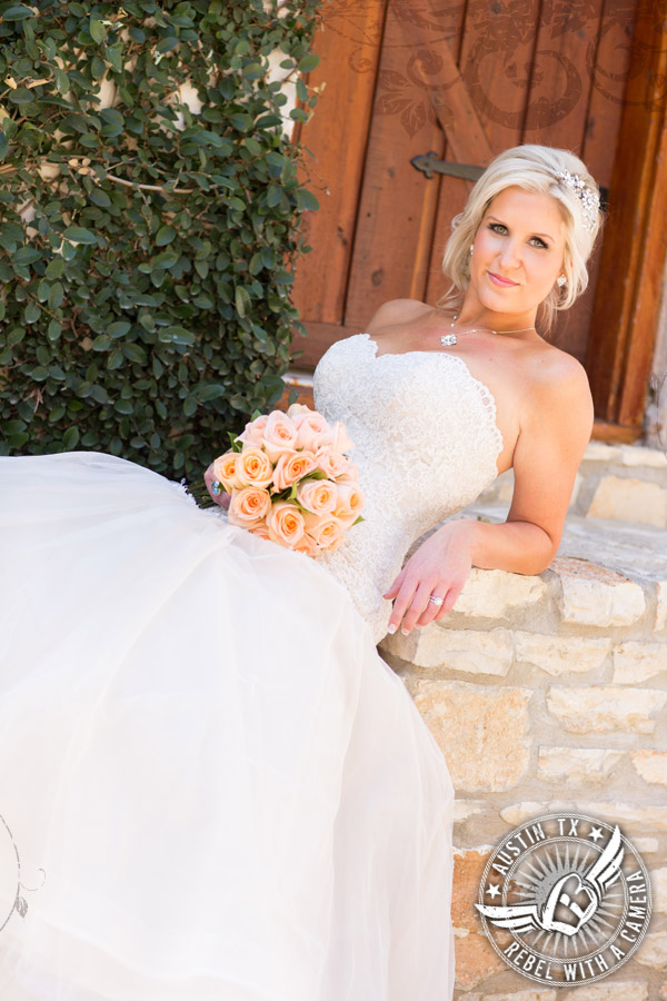 Gorgeous bridal portraits at Nature's Point