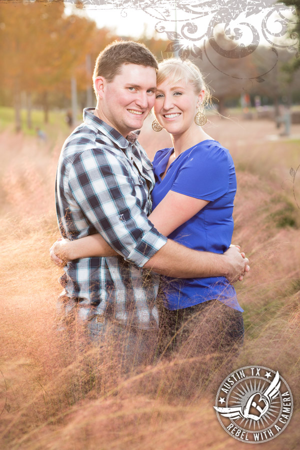 Fun Engagement pictures at the Long Center in Austi
