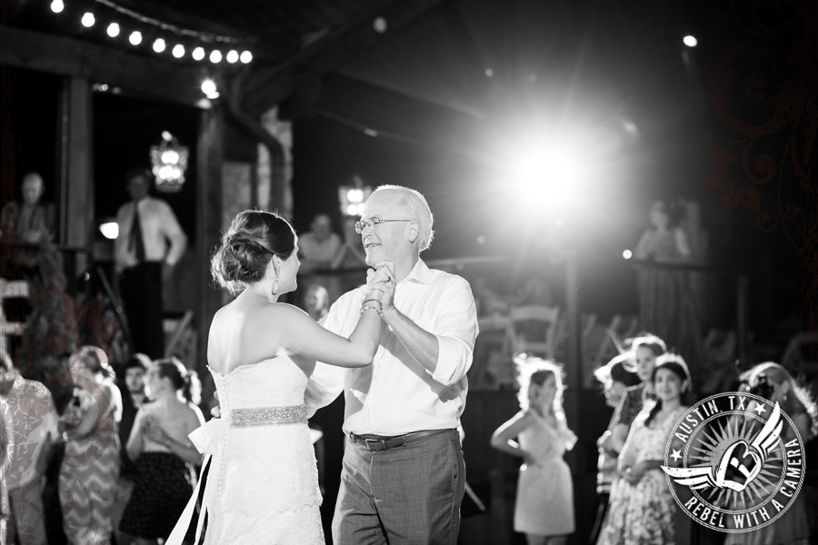 Father daughter dance at Nature's Point