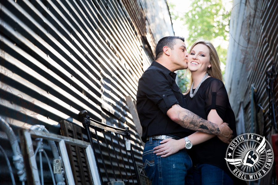 Fun engagement session in Georgetown, Texas
