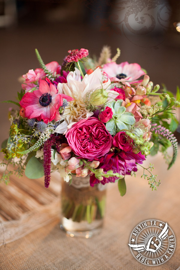 Gorgeous bridal bouquet by Petal Pushers at Vista West Ranch
